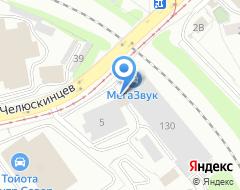 Компания Уральский Центр Бизнеса на карте города