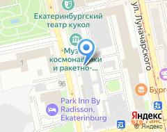 Компания Областной центр информации и конъюнктуры рынков на карте города