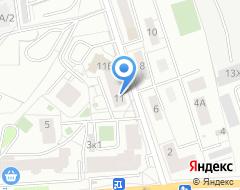 Компания ВИЗА-тур на карте города
