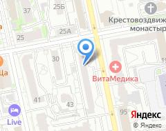 Компания Урал-Пресс на карте города