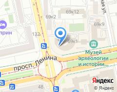 Компания Исеть на карте города