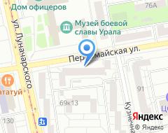Компания Графика на карте города
