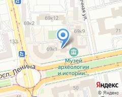 Компания SteakHouse на карте города