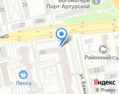 Компания Акцент на карте города