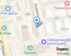Компания ФКБ Петрокоммерц на карте города