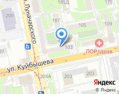 Компания Учебный спортивно-технический Центр Октябрьского района на карте города