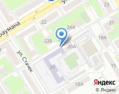 Компания Средняя общеобразовательная школа №67 на карте города