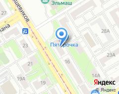 Компания Глянец на карте города
