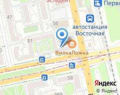 Компания Юрис-Интер на карте города