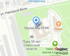 Компания КУДО на карте города
