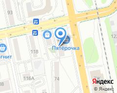 Компания ЛАПЫ на карте города