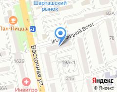 Компания Босфор на карте города