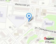 Компания Адекс-Нова на карте города