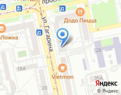 Компания Банк Русский Стандарт Екатеринбургское представительство на карте города
