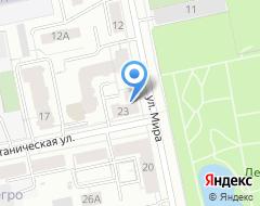Компания Екатеринбург на карте города