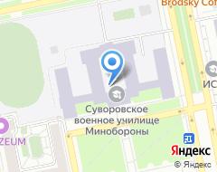 Компания ЕкСВУ на карте города