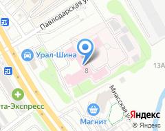 Компания УрНИИДВиИ на карте города