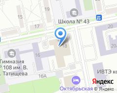 Компания Акцепт-Урал на карте города