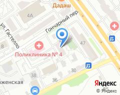Компания Овал для памятника на карте города