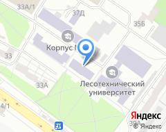 Компания УГЛТУ на карте города