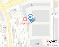 Компания Газпромбанк на карте города