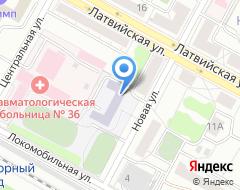 Компания Средняя общеобразовательная школа №71 на карте города