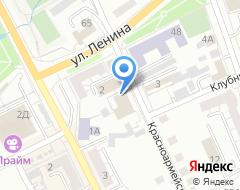 Компания РОССИ на карте города