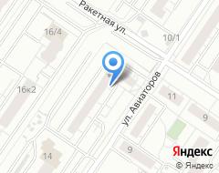 Компания Лайна на карте города
