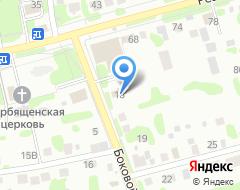 Компания ТОНУС-КЛУБ на карте города