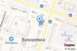 Компания «Стиляги» на карте