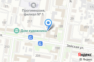 Компания «Фонд содействия кредитованию субъектов малого и среднего предпринимательства Амурской области» на карте