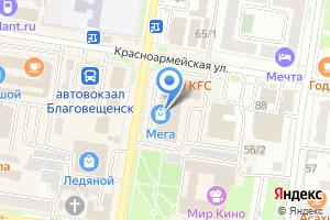 Компания «Банкомат Райффайзенбанк» на карте