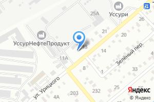 Компания «Эвакуатор25» на карте