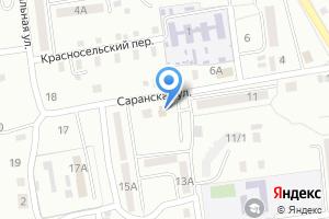 Компания «Золотой» на карте