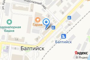 Компания «Балтийский» на карте