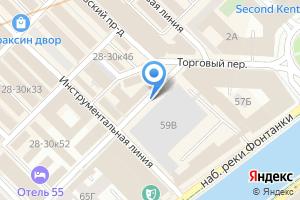 Компания «Петроком-сервис» на карте