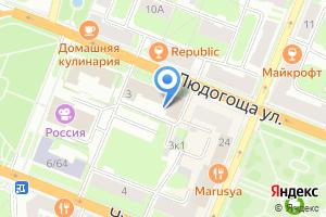 Компания «НовДента» на карте