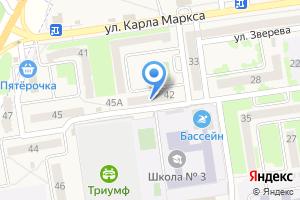 Компания «Фотоцентр на ул. Карла Маркса» на карте