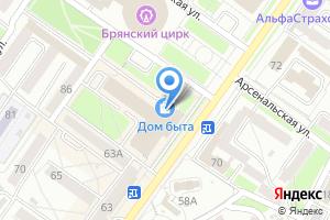 Компания «Бьюти-сервис» на карте