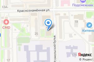 Компания «Fitness One» на карте