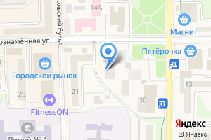 Компания «Элитная посуда» на карте