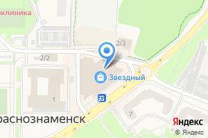 Компания «Барабашка» на карте