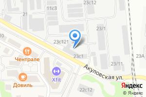 Компания «Ависта Модуль» на карте
