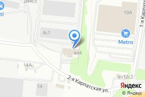 Компания «ПРО-ГРЕС» на карте