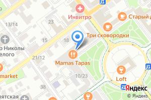 Компания «Автошкола Альфа» на карте