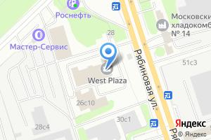 Компания «Рябина» на карте