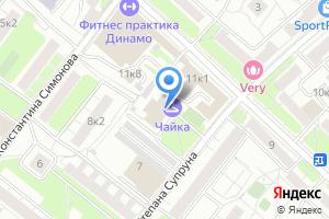 Компания «Аншлаг-1» на карте