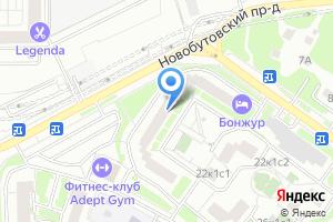 Компания «Доставка Алкоголя в Бутово 24» на карте