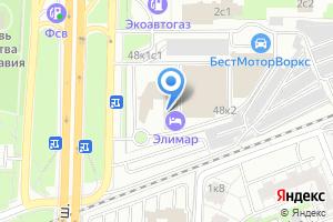 Компания «Офсет Москва» на карте