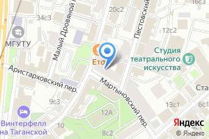 Компания «Дом Весты» на карте